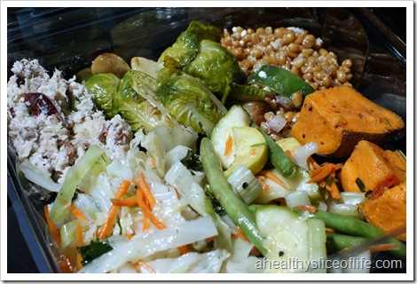 Earth Fare Salad Bar Plate