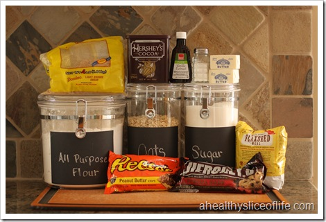 Chocolate Nut Butter Cookie Ingredients
