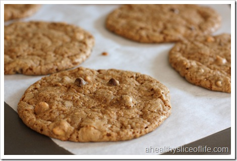 Chocolate Nut Butter Cookies Close Up