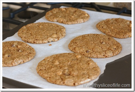 Chocolate Nut Butter Cookies Post Oven