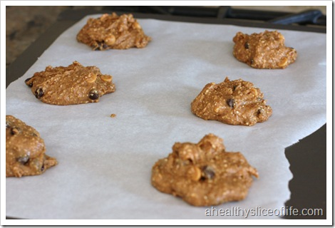 Chocolate Nut Butter Cookies Pre Oven