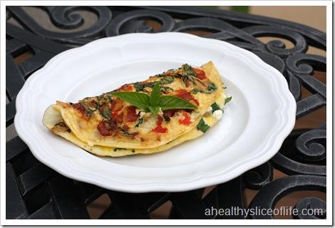 Greek omelet