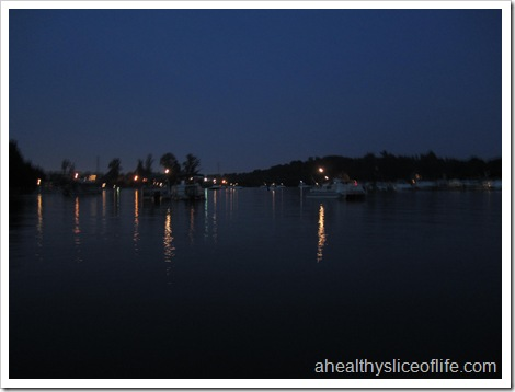 Lake Norman before fireworks
