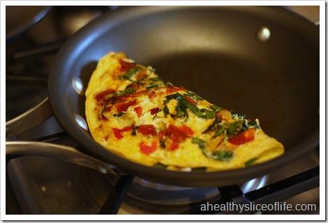 folded omelet