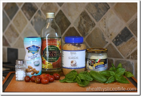 tomato almond pesto ingredients