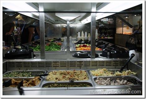 EarthFare Huntersville salad bar