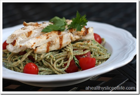 herbed goat cheese chicken pasta 2