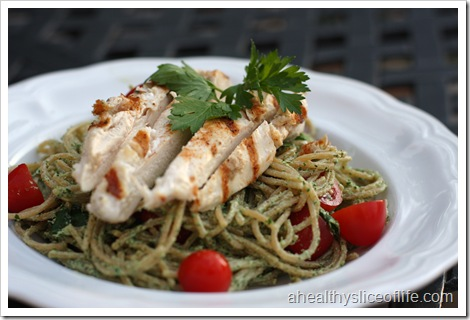 herbed goat cheese chicken pasta