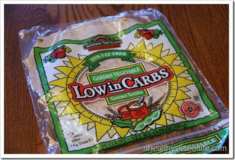 low carb tortilla