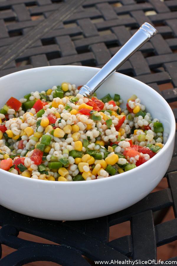 vegetable barley salad recipe