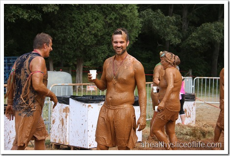 warrior dash huntersville nc finish
