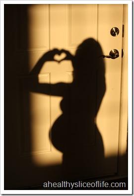 39 weeks pregnant shadow