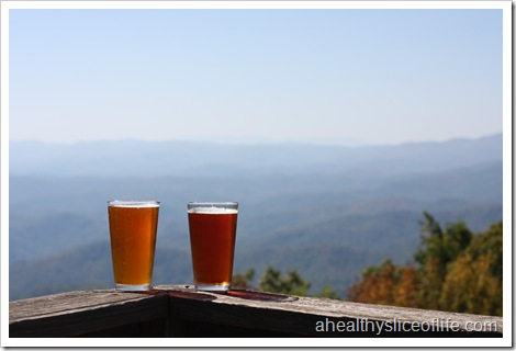 Canyons Restaurant- Blowing Rock NC- porch view