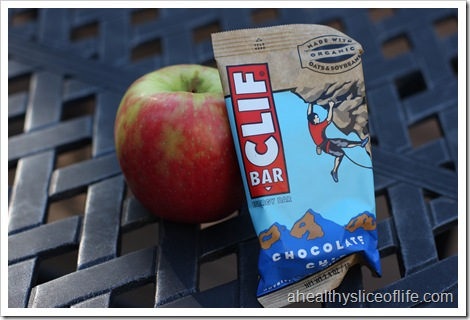 Clif Bar and Apple