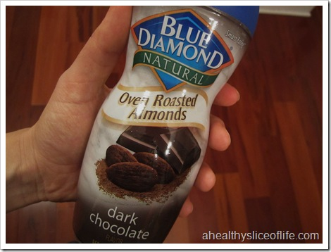 dark chocolate roasted almonds