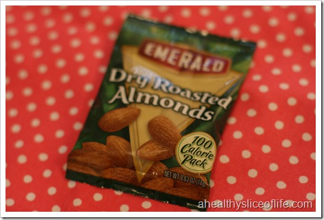 100 calorie pack almonds