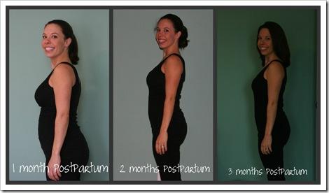 3 month postpartum collage