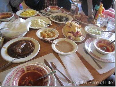 Danl Boone Inn Lunch