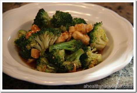 Eating Well Tofu and Broccoli Stir-fry 1