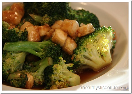 Eating Well Tofu and Broccoli Stir-fry 2