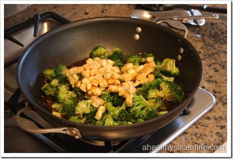 Eating Well Tofu and Broccoli Stir-fry- add back in tofu