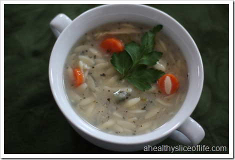 Lemon Chicken Orzo Soup - Panera Recipe