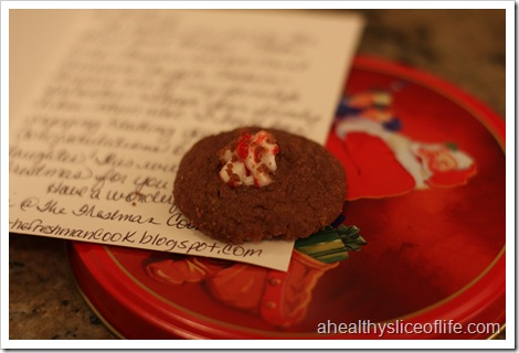 Mint Chocolate Truffle Cookies