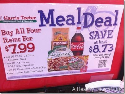 Harris Tetter Meal Deal Unhealthy
