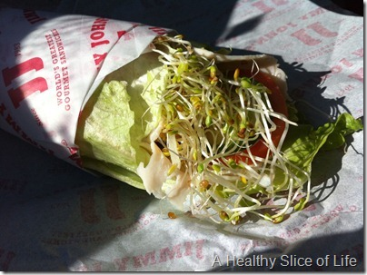 Jimmy Johns Lettuce Wrap Sandwich