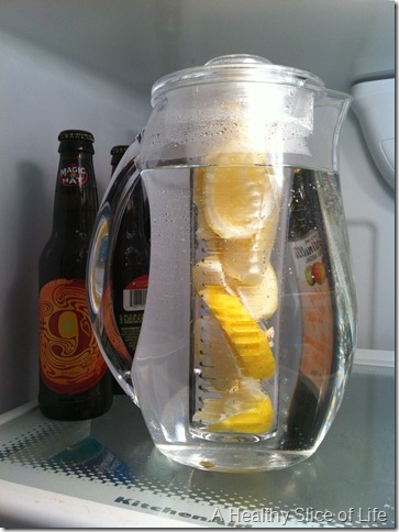 Lemon DIffused Water