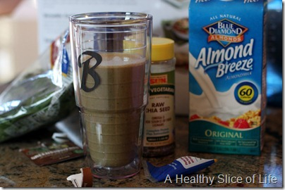 Superfoods Chocolate Banana green monster