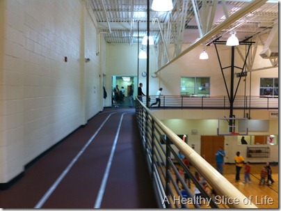 indoor track at gym