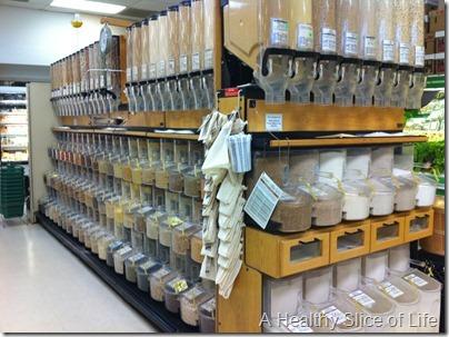 Rosewood Market Columbia SC- bulk bins