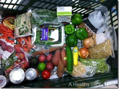 grocery shopping from Healthy Home Market Davidson