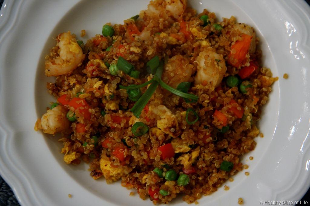 Shrimp Quinoa Recipe — Dishmaps