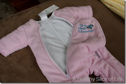 Baby Merlin's Magic Sleepsuit dual zipper