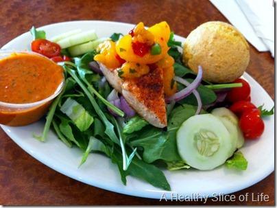 BlueStar Grill Mooresville NC salmon salad