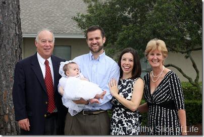 Destin Hailey baptism