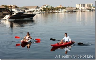 Destin kayaking