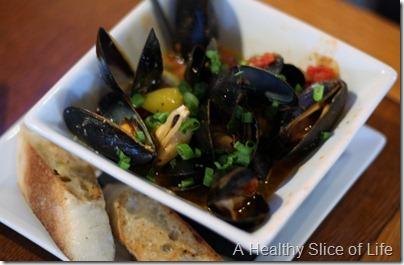 Galway Hooker Cornelius NC mussels
