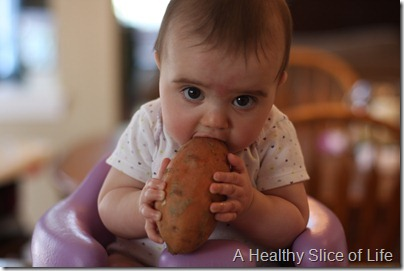 H sweet potato before