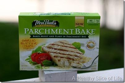 Mrs Pauls Parchment Bake Garlic Butter Tilapia