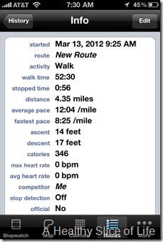 Walkmeter iPhone App