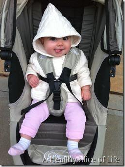 hailey 6 months old stroller