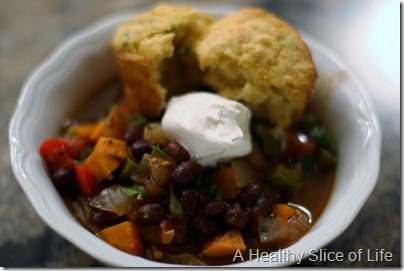 sweet potato chili stew
