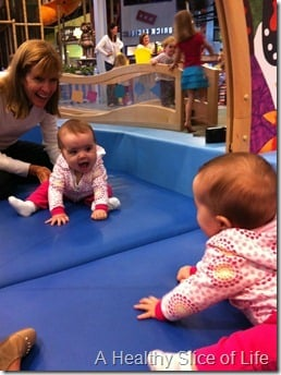 Hailey and Nana at Discovery Place Kids- Huntersville NC