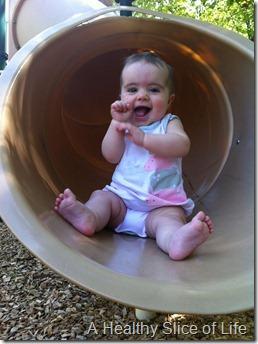 Hailey slides 7 months