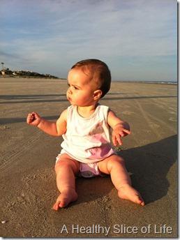 Hilton Head Island 2012- Hailey on beach