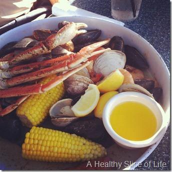 Hilton Head Island 2012- Skull Creek Extravaganza platter