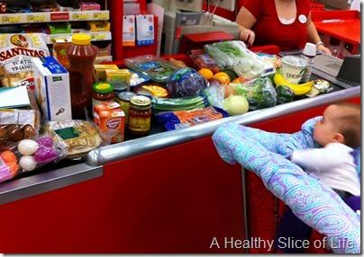 groceries at Target